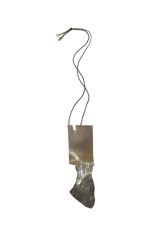 Neckpiece, silver, 18 cm x 6 cm, Klara Brynge