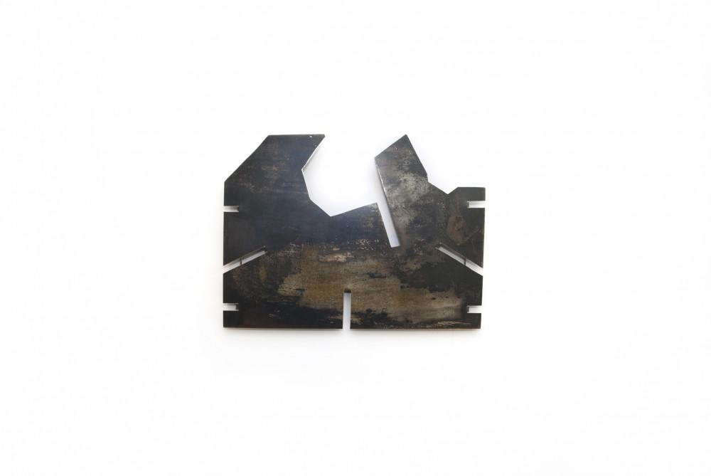 Brooch, silver, 11 cm x 7 cm, Klara Brynge
