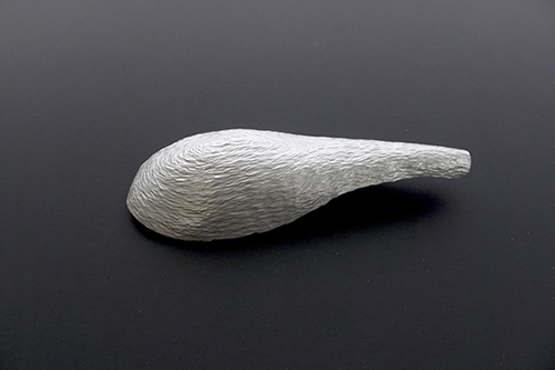 Brooch, silver, 6 cm x 4 cm, Klara Brynge