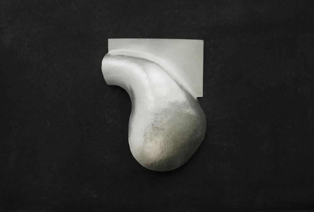 Brooch, silver, 7 cm x 11 cm, Klara Brynge