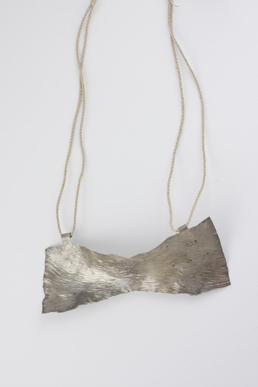 Neckpiece, silver, Klara Brynge